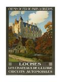 Loches Les Chateaux De La Loire Giclee Print by Marcus Jules