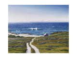The Road to the House and the Wave Giclee Print by Lee Mothes