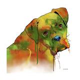 Boxer 2 Giclee Print by Marlene Watson