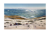 Stick Ranch and Big Waves Giclee Print by Lee Mothes