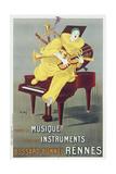 Lotti Clown Giclee Print by Marcus Jules
