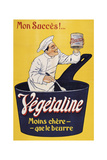 Vegetaline-Yellow Chef Giclee Print by Marcus Jules