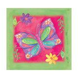Butterfly Colors 02 Giclee Print by Maria Trad