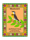 Meadowlark Quilt Reproduction procédé giclée par Mark Frost