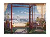 The Reading Porch Giclee Print by Lee Mothes