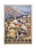 La Corse Giclee Print by Marcus Jules