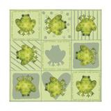 Sap Green Giclee Print by Maria Trad
