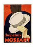 Chapeaux Mossant Giclee Print by Marcus Jules