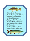 Behold Ye the Fisherman Giclee Print by Mark Frost