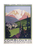 Combloux Giclee Print by Marcus Jules