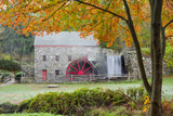 Autumn at the Grist Mill Photographic Print by Michael Blanchette