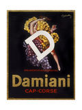 Damiani Cap-Corse Giclee Print by Marcus Jules