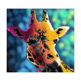 Giraffe 1 Giclee Print by Marlene Watson