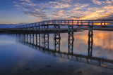Under the Boardwalk Photographic Print by Michael Blanchette