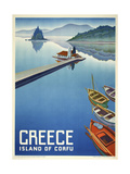 Greece Corfu Giclee Print by Marcus Jules