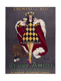 Veuve Amiot Cappiello King Giclee Print by Marcus Jules