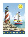 Beach II Giclee Print by Michele Meissner