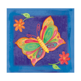 Butterfly Colors 03 Giclee Print by Maria Trad