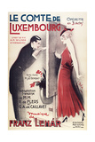 Le Comte De Luxembourg Giclee Print by Marcus Jules