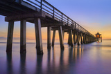 Naples Pier Panoramic III Photographic Print by Moises Levy
