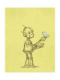 Robot Bird Giclee Print by Michael Murdock