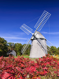 Old Higgins Farm Windmill Photographic Print by Michael Blanchette