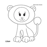 Lion Giclee Print by Olga And Alexey Drozdov