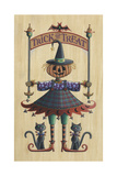 The Pumpkin Queen Giclee Print by Michele Meissner