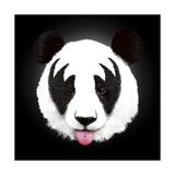 Kiss of a Panda Giclee Print by Robert Farkas