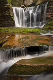 Three-Step Cascade Photographic Print by Michael Blanchette