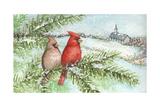 Cardinal Winter Giclee Print by Melinda Hipsher