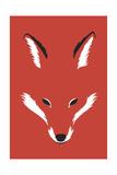 Foxy Shape Giclee Print by Robert Farkas