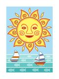 Nautical II Giclee Print by Michele Meissner