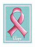 Pink Ribbon 5 Giclee Print by Megan Duncanson