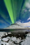 Auroral Eruption Photographic Print by Michael Blanchette