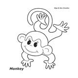 Monkey Giclee Print by Olga And Alexey Drozdov