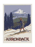 Apple Adirondack Giclee Print by Michele Meissner