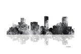 Denver Colorado Skyline BG 1 Giclee Print by Marlene Watson