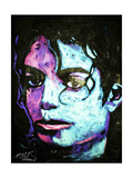 Michael Jackson 001 Giclee Print by Rock Demarco