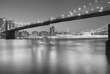 Panorama Brooklyn Bridge 1 Photographic Print by Moises Levy