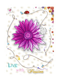 Live with Passion Giclee Print by Megan Duncanson