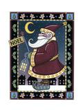 Apple Santa Noel Giclee Print by Michele Meissner