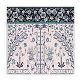 Wedgewood Trellis Giclee Print by Mindy Sommers