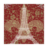 Eiffel Tower Giclee Print by Michelle Glennon