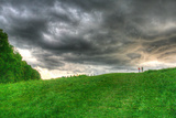 Storm Cloud Hill Photographic Print by Robert Goldwitz