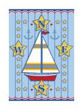 Nautical III Giclee Print by Michele Meissner