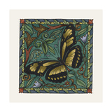 Apple Butterfly Tile Giclee Print by Michele Meissner