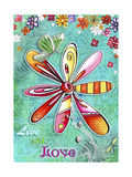 Live and Love Giclee Print by Megan Duncanson