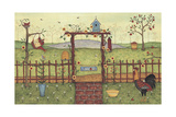 Trellis Giclee Print by Robin Betterley