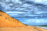 Cape Cod Dune and Colors 2 Photographic Print by Robert Goldwitz